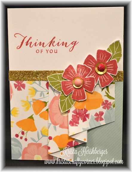 2016 happy times card class - c5 curtain fold card DSC_1347