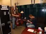Jazzy Jam session in the dressing room