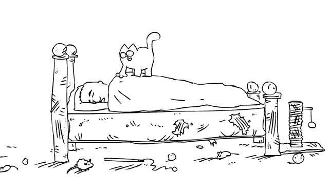 Simon's Cat 'Cat Man Do'