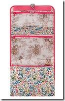 Vintage Floral Hanging Washbag