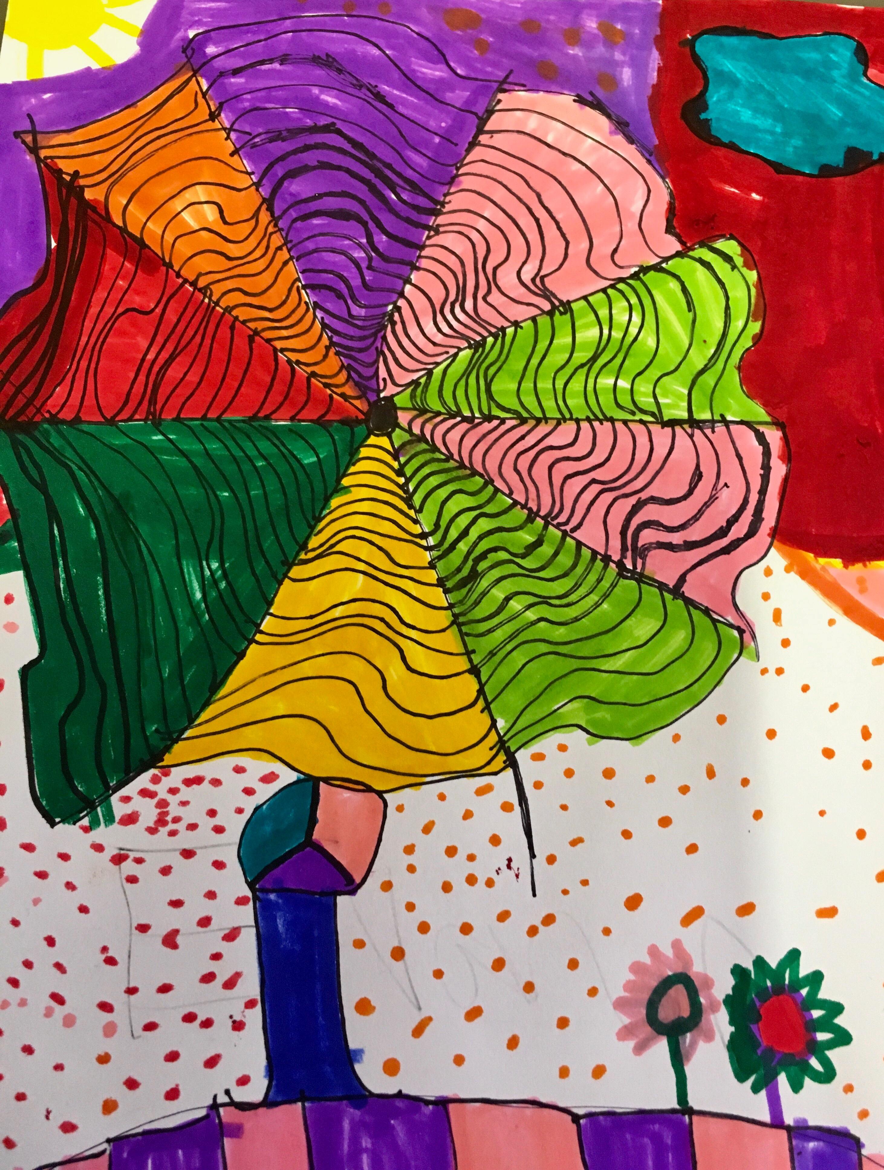 Fayston Elementary Art: Zentangle Landscapes