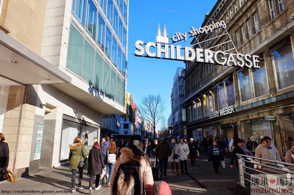 Schilder Strasse 購物街