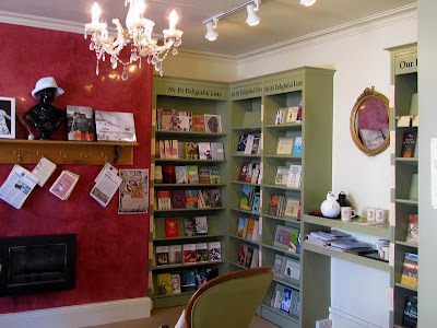 Inside the Bibliotherapy room