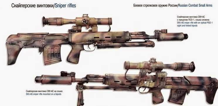 Снайперское стрелковое вооружение