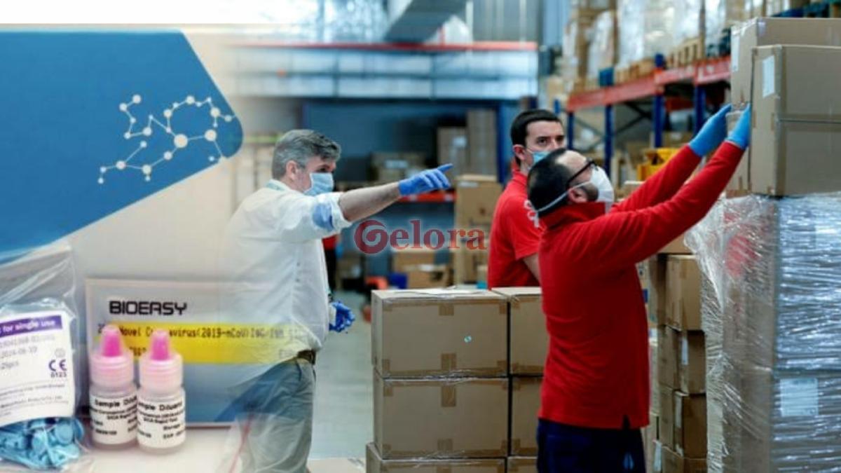 Spanyol Akan Kembalikan Alat Rapid Test Buatan China karena Tak Akurat