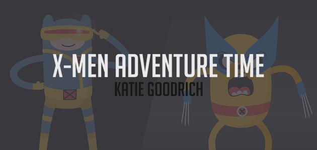 Hora de Aventura versão X-Men