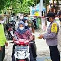 1.900 Masker Medis Gratis Dibagikan Polres Kep Seribu Ke Warga