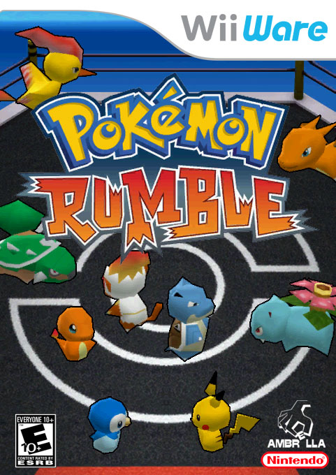 how to get pokemon rumble on wii