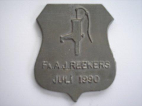 Naam: AJ ReekersPlaats: NoordwijkJaartal: 1990