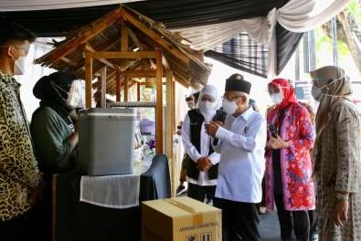 Ma'ruf Amin Apresiasi Pemkab Banyuwangi yang Berdayakan UMKM