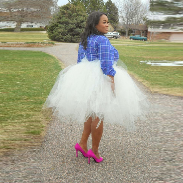 BEAUTIFUL COLLECTION OF TULLE DRESS AND SKIRTS FOR AFRICAN WOMEN 5