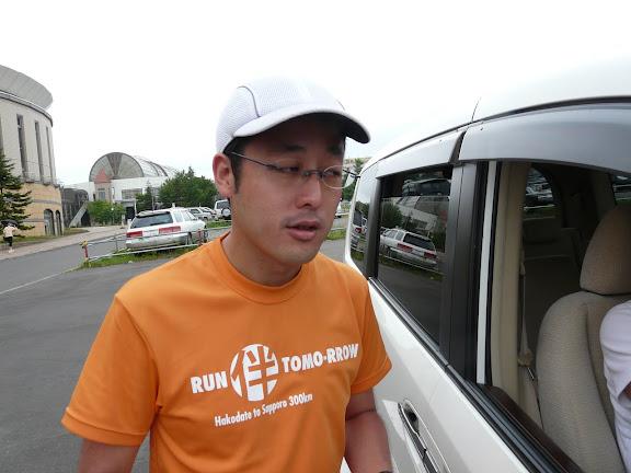 少々お疲れ気味の徳田氏