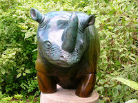 African Rhino by Omar Shaheed