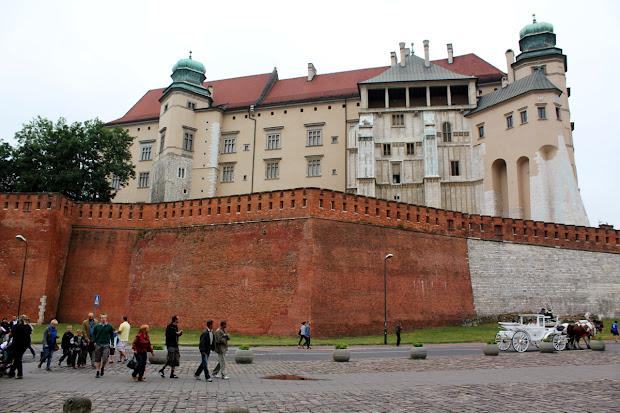 El castillo de Wawel (Cracovia)