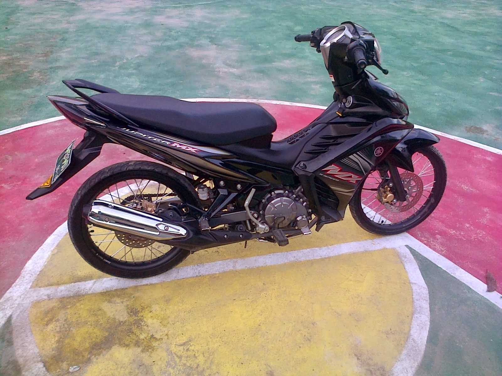 Modifikasi Jupiter Mx Jari Jari