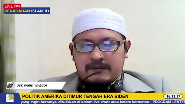 Farid Wadjdi: Isu HAM Demokrasi Jualan Penguasa Muslim untuk Mendapatkan Dukungan AS