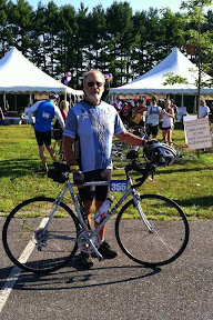 Hank and his bike