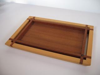 カフェトレー (S) チーク  tea tray mini (S) teak