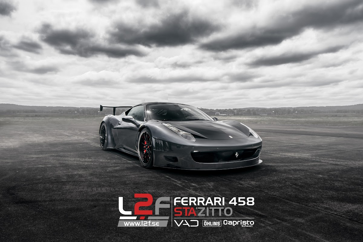 Gray Design and VAD delivers Ferrari 458 GT3 Curseive to