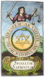 From Johann Michael Faust Philalethes Illustratus Frankfurt 1706, Alchemical And Hermetic Emblems 1
