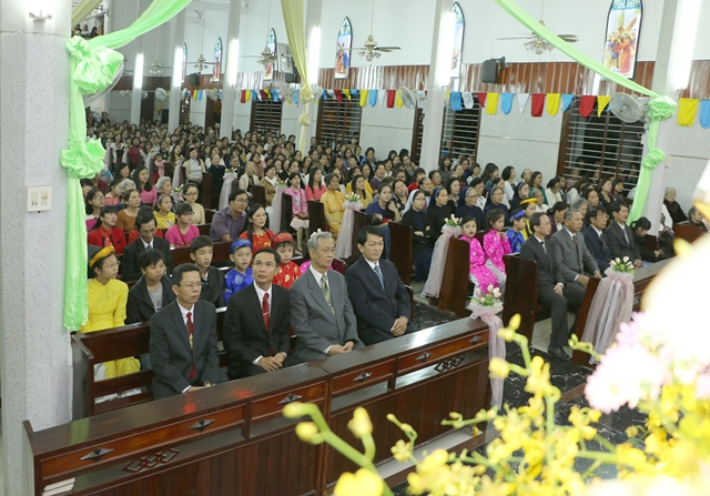 Thánh lễ Khai Mạc Năm Thánh Mừng Kỷ Niệm Ngọc Khánh 60 Năm Thành Lập Giáo Xứ Bắc Thành (1956-2016)