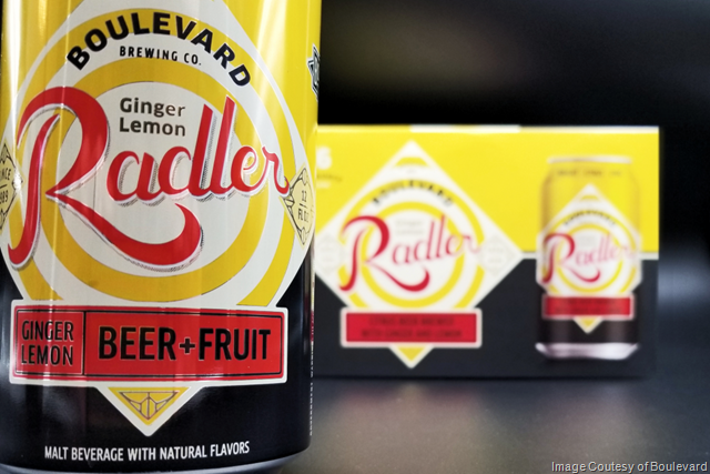 Boulevard Ginger Lemon Radler Season Returns