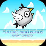 Flying Bird Bord Angry Cameos