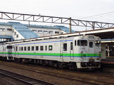 JR北海道 根室本線 快速列車 3425D キハ40 1709