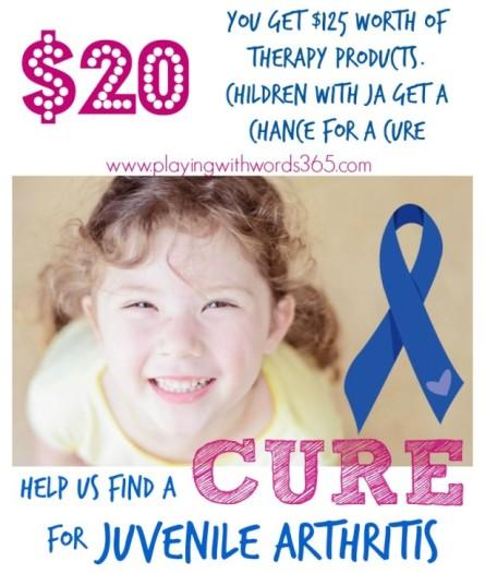 Help Us Find a Cure for Juvenile Arthritis Bundles Image