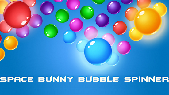 Space Bunny Bubble Spinner - náhled