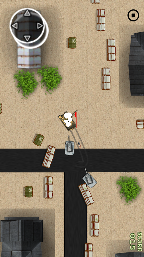Invasion of the Tank Commander- screenshot