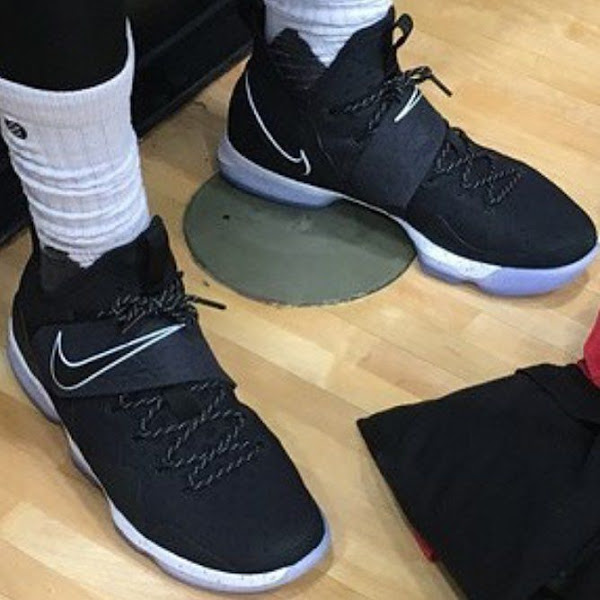 King James Wears New Nike LeBron XIV 14 in Practice