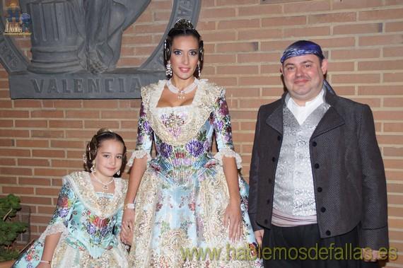 Solemne exaltación de Arantxa Muñoz Giner y Lucia Martorell Muñoz.. Falla Leones - Poeta Más i Ros