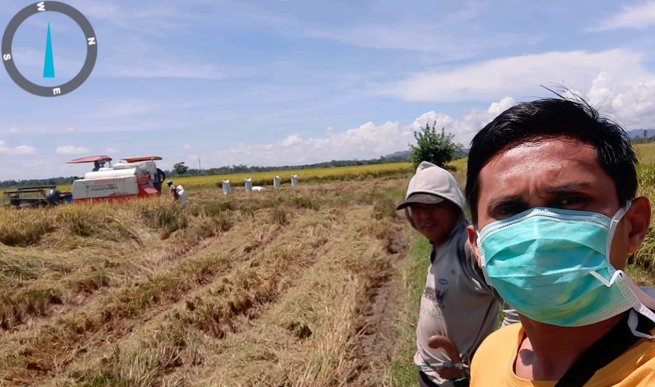 Meskipun Ditengah Wabah Covid 19, Penyuluh di Mattiro Bulu Kab.Pinrang Tetap Eksis Kawal Petani Penangkar Benih Padi