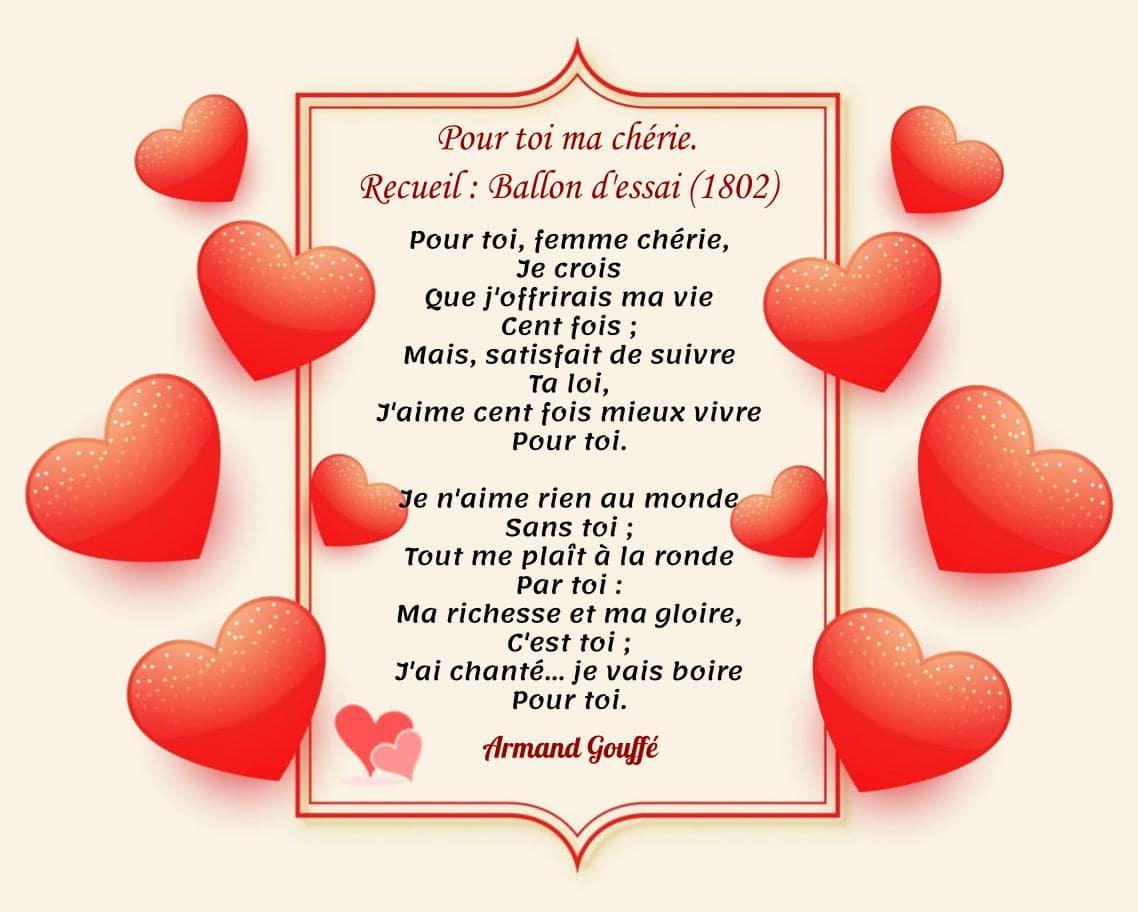 Armand Gouffé - Poème d'amour court