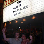 Hank III and Assjack: a helluva night
