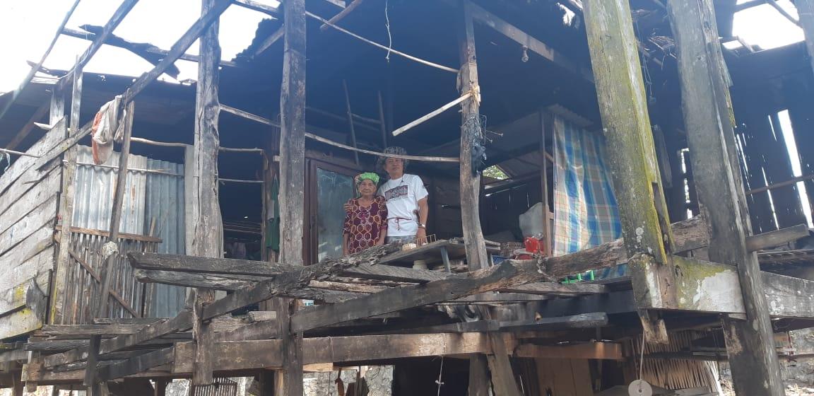 Bupati Soppeng: Hari Ini Rumah Warga Dampak Puting Beliung  Harus Tuntas
