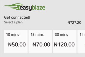 BlazeOn App For Etisalat