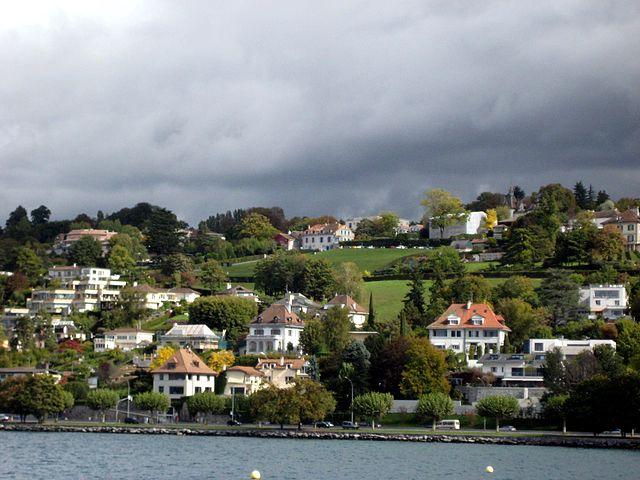 Villas junto al lago Leman