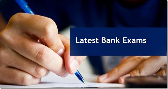 Latest Bank Exams recruitment Notifications