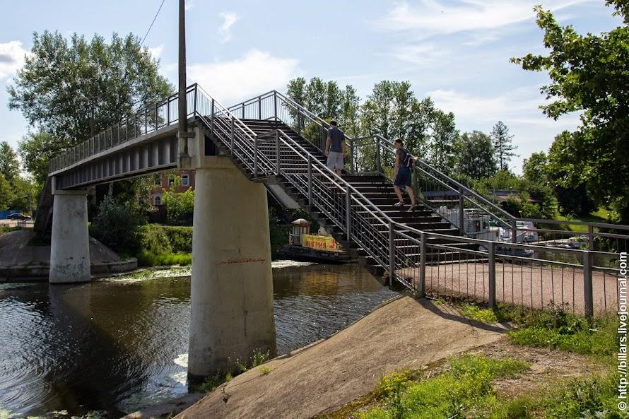 Мост через р.Ижора