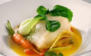 Μπακαλιάρος φρέσκος με Σέλινο,Haddock with Fresh Celery.
