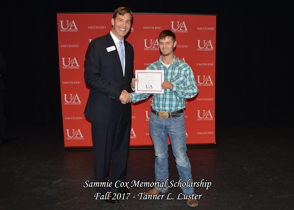 Fall 2017 Foundation Scholarship Ceremony - Sammie%2BCox%2BMemorial.jpg