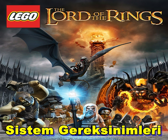 Lego: Lord Of The Rings PC Sistem Gereksinimleri