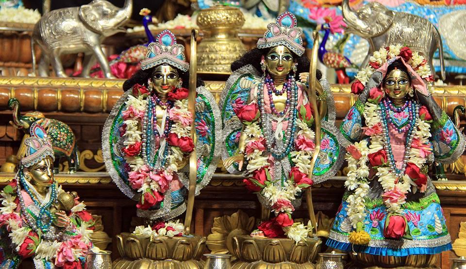ISKCON Delhi  Deity Darshan 14 June  2016 (2)
