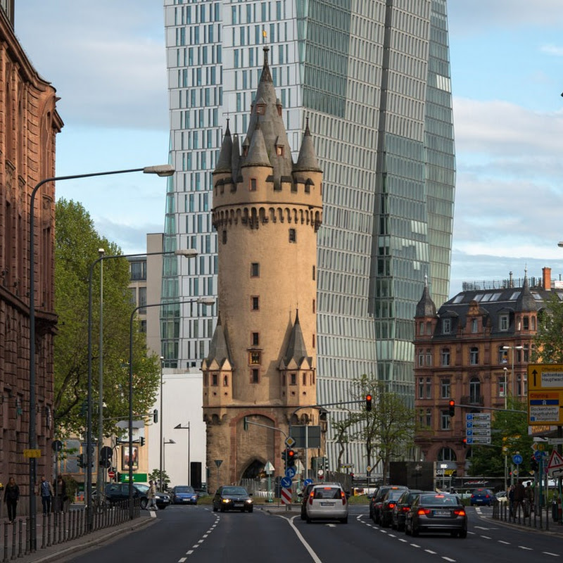 Eschenheimer Turm: A Mediaeval Tower in The Middle of Frankfurt