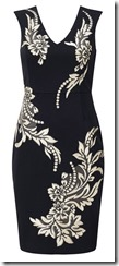 Phase Eight patterned scuba dress 25% off