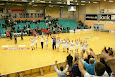 U10 + U12 drenge og piger var på besøg hos KIF Kolding til håndboldliga kamp i december 2009.