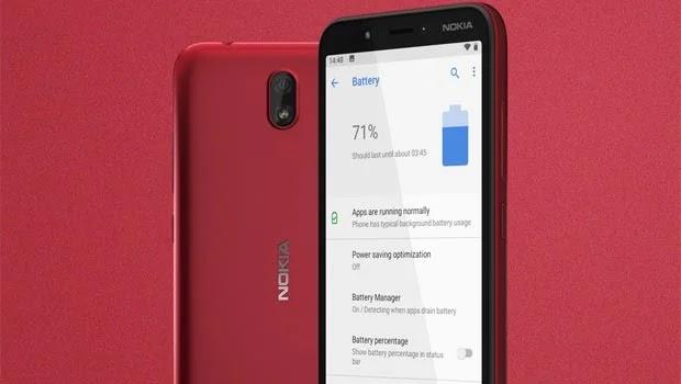 Nokia C1 Fitur