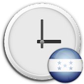 Honduras Clock & RSS Widget